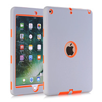 Cases For New IPad 9 7 2017 A1822 A1823 High Impact Shock Absorbent Dual Layer Silicone