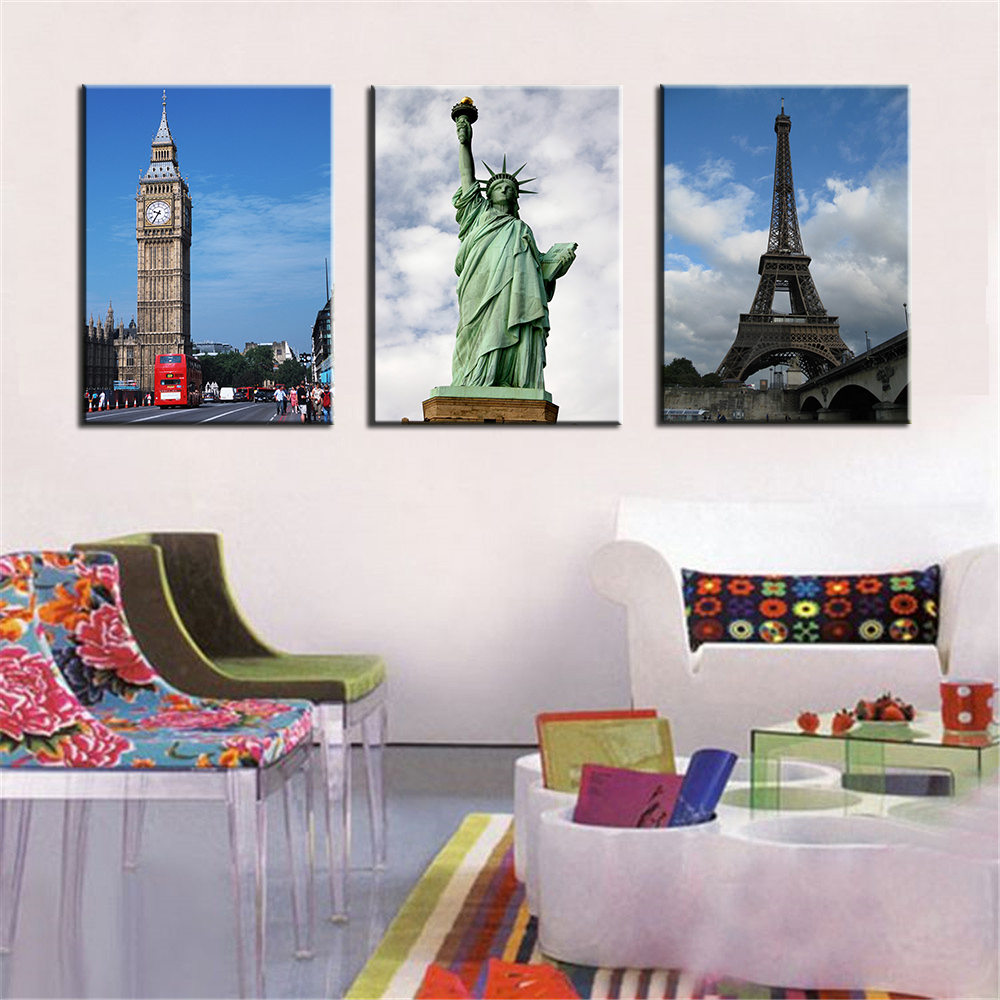 Online buy wholesale famous landscape from china famous for Room decor 5d