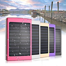 50000mAh Dual USB Solar External Power Bank Battery Charger For Phone Tablet 50000mah large capacity mini portable power bank lightweight dual usb battery charger power backup with led light for phone