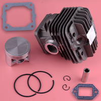 LETAOSK 50mm Piston Cylinder Assembly Kit Fit for Stihl 044 MS440 Chainsaw Rebuild Replacement
