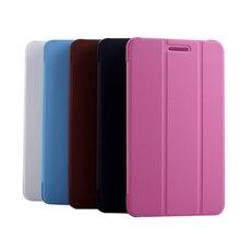 Hotsale Cas de Couverture Pour Lenovo Tab 2 a8-50lc Protecteur Smart Stand E-book Cas Couverture pour Lenovo Bande 2 A8-50 A8-50F + Stylus stylo