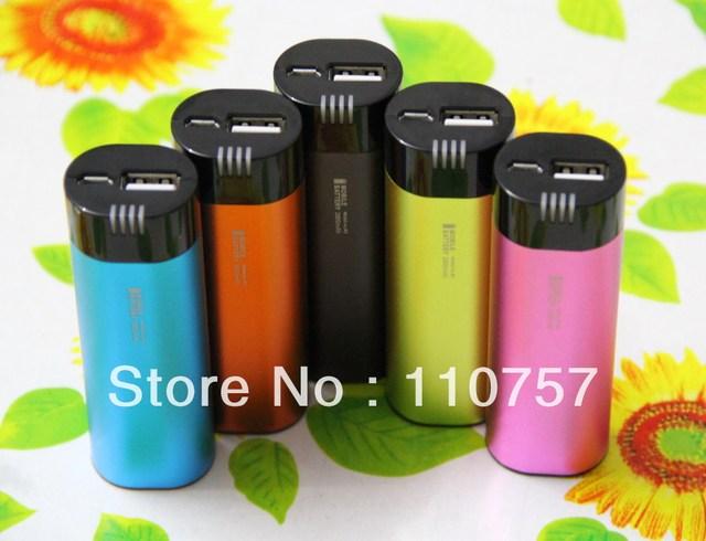 10pcs/lot,2800mAh mini portable power bank for mobile phone