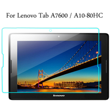 Tempered Glass membrane For Lenovo Tab 10.1 A10-70 A7600 A10-80HC Steel film Tablet Screen Protection Toughened it baggage чехол для lenovo tab 10 a10 70 a7600 red