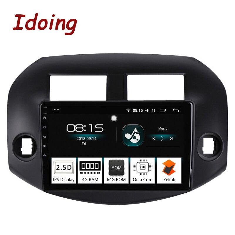 Idoing 10 2 4G 64G 2 5D IPS Octa Core 1 Din Car Radio Android 8