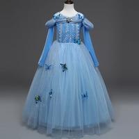 Kinderkleding Party.Promo 2015 Nieuwe Film Zomer Cinderella Prinses Kids Cosplay Kostuum
