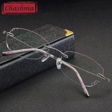 8f0486de6144 Chashma Women Eyeglass Frames with Rhinestones lunette transparente Glasses  Frame