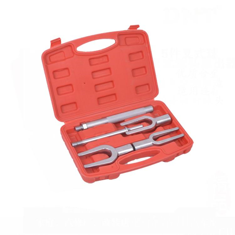 5pcs Front End Service Tool Kit Ball Joint Separator Pitman Arm Tie Rod Puller Ball head fork suit