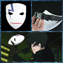 Free Shipping Darker Than Black Mask Coolest Cartoon Halloween Costumes Toy Theme Dress up party props Horror Prank Joke Gifts