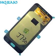ЖК дисплей для Samsung Galaxy J7 Pro 2017 J730 J730F J730FM, дисплей с сенсорным экраном и дигитайзером в сборе, оригинальный ЖК дисплей