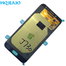 Test Originele Voor Samsung Galaxy J7 Pro 2017 J730 J730F J730FM Lcd Touch Screen Digitizer Vergadering Originele Lcd Display