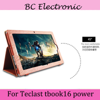 Flip Cases Stand For Teclast TBOOK16s High Quality PU Leather Case For 11 6 Teclast Tbook16