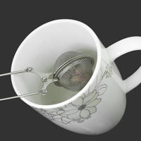 из нержавеющей стали ложка чайные листья травы или сетки мяч заварки фильтр сожмите фильтр новый