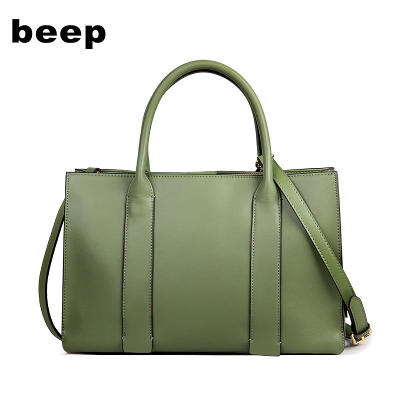 BEEP brand handbag 2018 new leather wild Messenger bag Atmospheric leather handbag Shoulder bag women bag new women shoulder bag handbag 100