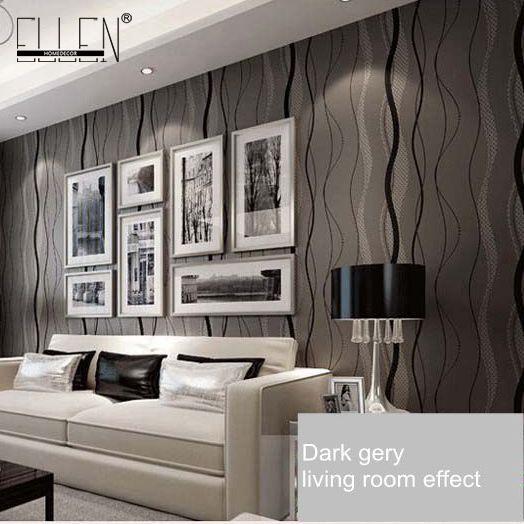 online get cheap beige gestreifte tapete -aliexpress.com | alibaba ... - Moderne Wohnzimmer Beige