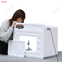 60cm studio oversized LED light box soft shed equipment Photo lamp prop small shooting table CD50 T03