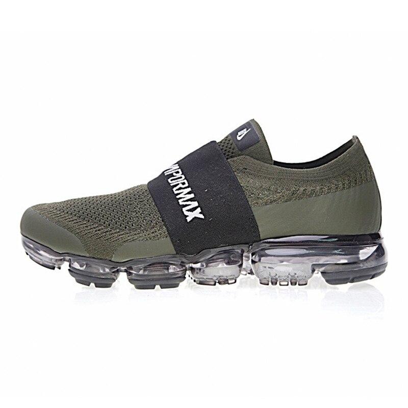 check out 4c66e e96cf Original authentique Nike Air VaporMax Moc arc en ciel coussin hommes  chaussures de course sport baskets extérieur respirant durable AH3397 dans  Chaussures ...