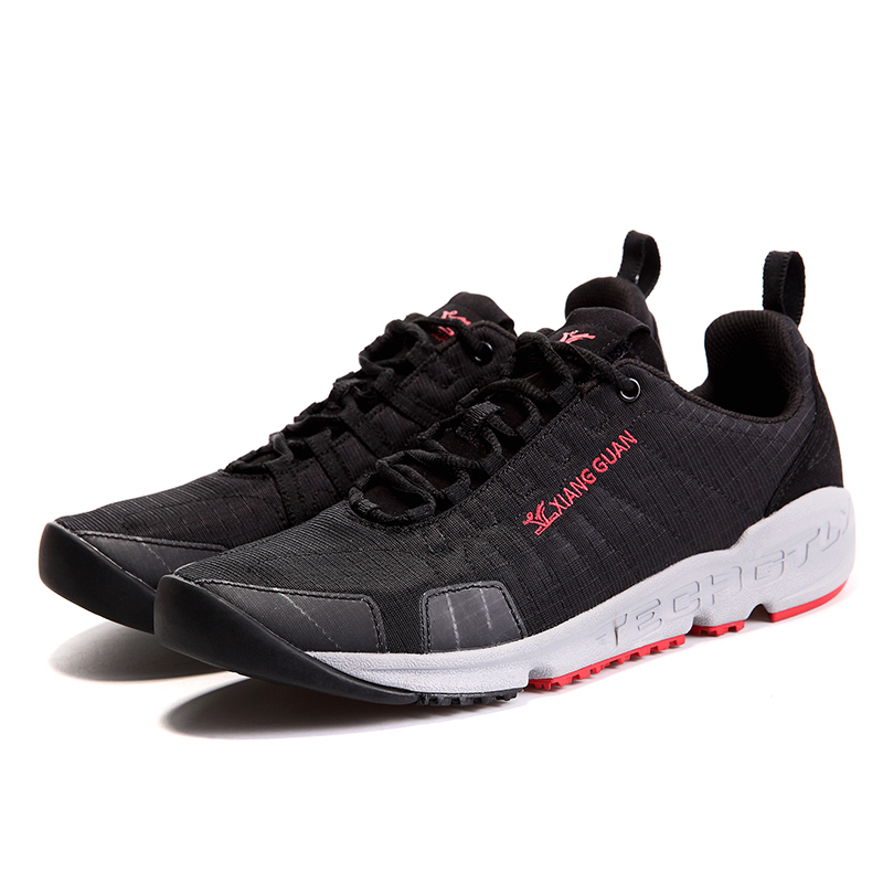Hot Sale Leisure Sport Lightweight Low-top Lace Up Jogging Running Shoes Men Breathable Outdoor Trekking Travelling Sneakers new suede low top lace up outdoor sports waterproof lightweight hiking shoes men breathable trekking climbing athletic sneakers