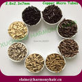 ( 8000pcs/lot ) 2.8x2.3x7mm Flare Copper Micro Rings for Hair Extension Mix Color 1#, 3#, 5#, 11#, 13#, 8#, 7#, 6#