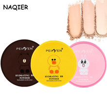 Make up Foundation contour Powder Skin Finish Powder Natural Mineral Cream Oil-control Brighten Concealer Banana Setting powder(China)
