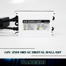 1pc 35W AC HID Slim Ballast Electronic digital for Vehicle Xenon headlights spares For H1 H3 H7 H4 H8 H9 H11 Fast Shipping