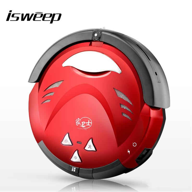 JIAWEISHI Multifunctional Intelligent Robotic Vacuum Cleaner Self-Charge Home Appliances Vacuum Remote Control Side Brush обогреватель ewt noc eco 20 lcd