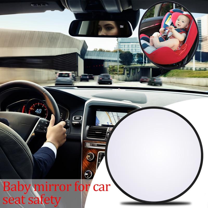 Car Back Seat Safety View Mirror Baby Rear Ward Facing Car Interior Baby Kids Monitor Reverse Safety Seats Mirror
