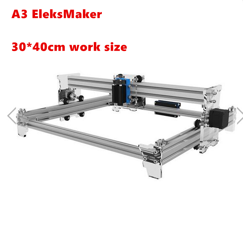 ElerksMaker Laser diy mini A3 Laser Engraving Machine Work Area 30X40cm Laser Engraver For Cutting Machine Benbox Software