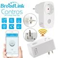 Broadlink casa inteligente 16A + temporizador EE.UU. UE wifi enchufe del zócalo outlet, Controles para ios teléfono inteligente Inalámbrico cojín Androide, domotica