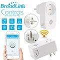Casa inteligente 16A + temporizador Broadlink wifi tomada plugue DOS EUA e DA UE, Controles Sem Fio do telefone inteligente para ios pad Android, domotica