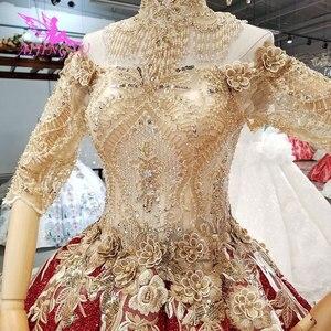 Image 5 - AIJINGYU ウェディングドレスウクライナガウンショートプラスサイズヴィンテージブラシレースと Bridals 価格既製ガウン Weddimg ドレス