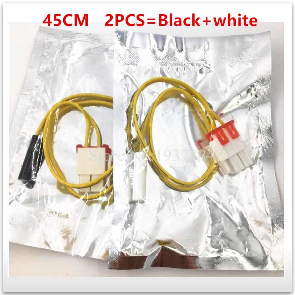 2pcs/lot Original New For Samsung Frost Free Refrigerator Parts Defrost Sensor Probe Temperature 5k