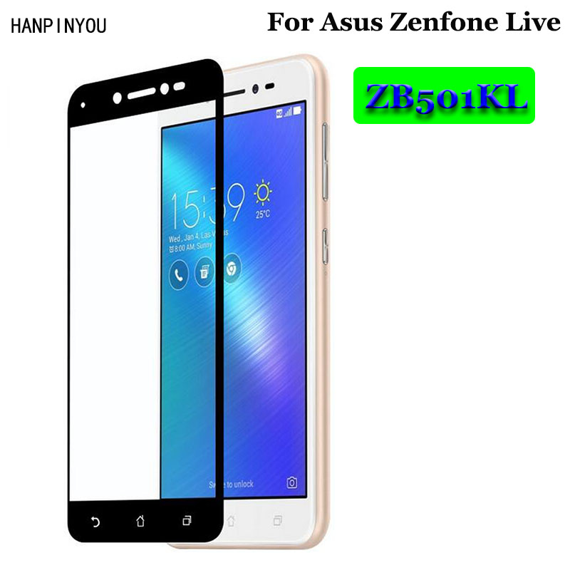 For Asus Live ZB501KL Full Coverage Tempered Glass 9H 25D