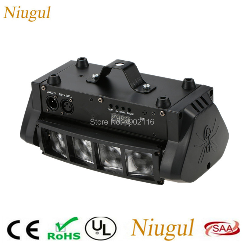 Mini LED Spider Light/RGBW DMX512 LED Moving Head Light /LED Beam Stage Effect Lights/DJ Lighting/Wedding Home Party LED LampsMini LED Spider Light/RGBW DMX512 LED Moving Head Light /LED Beam Stage Effect Lights/DJ Lighting/Wedding Home Party LED Lamps