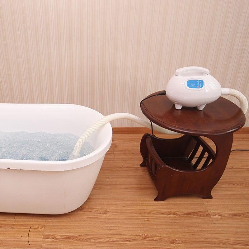 Bain à bulles d'air Massage Spa bulles de Massage pour détendre iBeauty bains à remous ménage salle de bains avec tapis de bain à bulles d'ozone