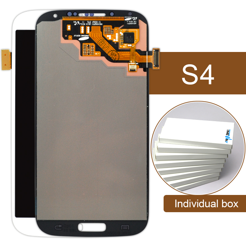 ФОТО Dhl 10pcs alibaba china highscreen clone For Samsung S4 I9500 Lcd Touch Screen Assembly With Display 5 Inch