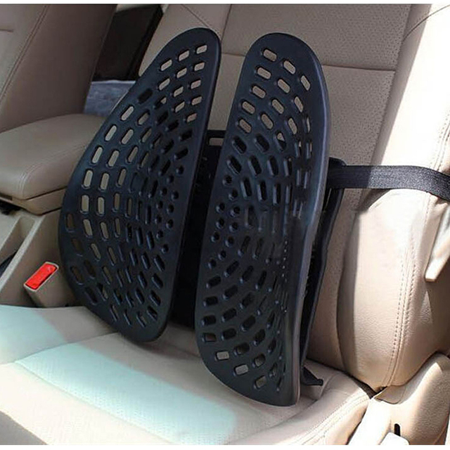 Universal Lumbar Pad Back Waist Brace Support Car Cushion Seat Supports Interior Accessories