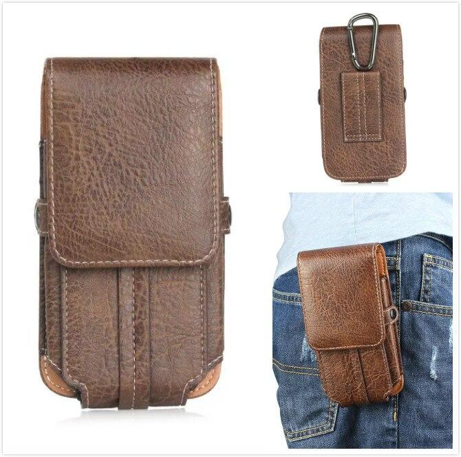 imágenes para Patrón de piedra de la pu de cuero bolso de la cintura clip de cinturón cubierta case para huawei enjoy 7 plus/honor 6c/y5 2017/nova juventud/p10 lite/honor v9