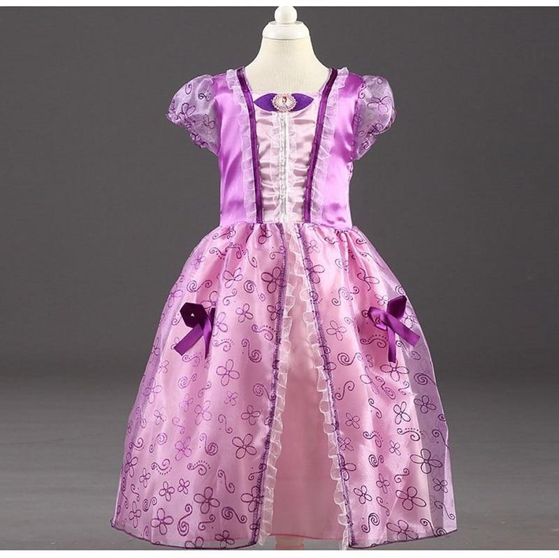 HTB1iGRHKeSSBuNjy0Flq6zBpVXaz Send crown Baby Girls Dress Christmas Anna Elsa Cosplay Costume Summer Girl Princess Dress for Birthday Party Vestidos Menina