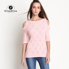 Runway Sweater Womens 2017 Fashion Sexy Pink Off Shoulder Sweater Women Clothes Luxury Pullovers
