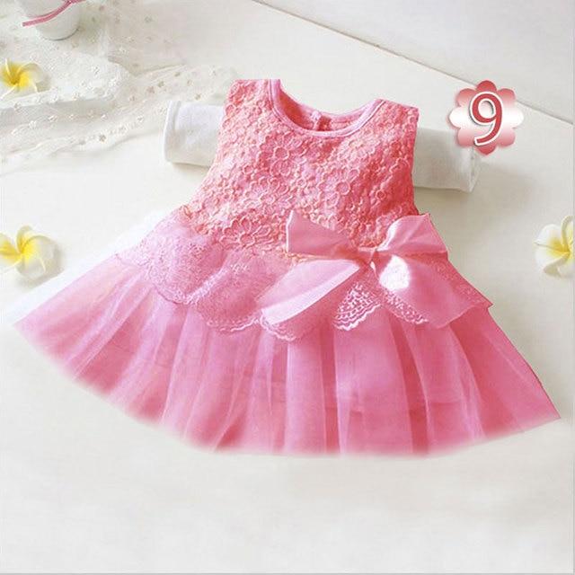 Baby Girl vestidos de verano princesa Tutu vestir bebé vestido ...