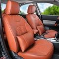 Крышка места автомобиля пользовательские установки для volvo c30 чехлы на сиденья черный ИСКУССТВЕННАЯ кожа автокресло обложка установить авто подушки для сидений автомобилей поддерживает
