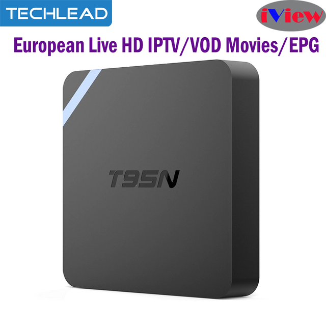 T95N Arabic IPTV box Media player + European HD tv channels Italy UK greek  Germany Live programme apk code UK Turkey iview tv-in Set-top Boxes from