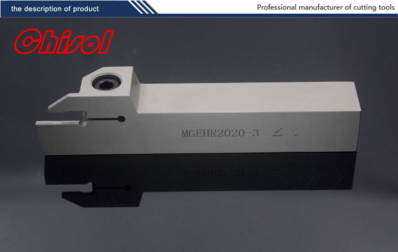 hot selling CNC lathe parting and grooving tool holder cut off tools MGEHL2020-3/MGEHR2020-3 for slotting inserts MGMN250-M 2mm wide blade cutter rod 12mm outer diameter cutting arbor external grooving lathe tool holder width grooving parting cutting