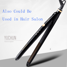 Professional Salon Hair Flat Iron Straightener Curler 2 In 1 Design Hair Straightening Curling Hair Iron Corrugation Tools 30W недорого