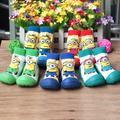 cartoon baby toddler shoes soft bottom boys socks shoes baby shoes girls boys shoes floor socks girls firsrt walker