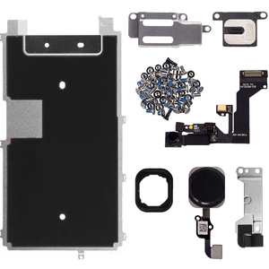 Image 5 - for iphone 6 6p 6s 6sp 7 7p 8 8 PLUS Full Set Repair Parts LCD Display Repair Parts Front Camera Ear Speaker Plate home button