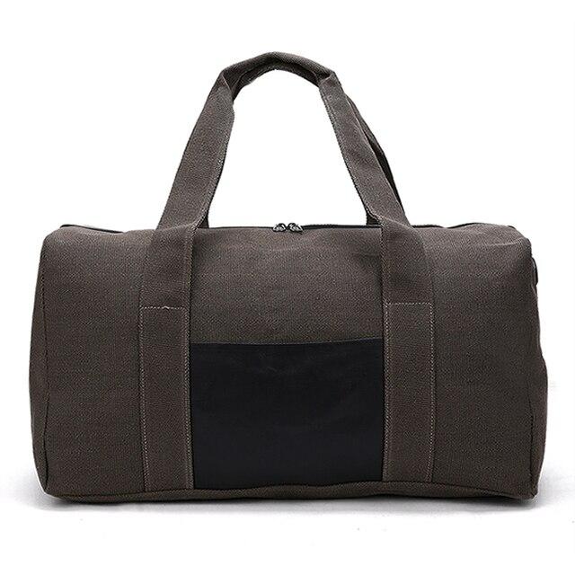 35ba7ac9bd 2018 Men Travel Bags Large Capacity Women Luggage Travel Duffle Bags Canvas  Folding Bag For Trip Waterproof