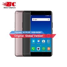 D'origine Gionee A1 Plus BRAS Cortex-A53 (MT6757CD) octa-core 2.6 GHz Android7.0 4 GB + 64 GB Rear13MP 4550 mAh D'empreintes Digitales Mobile téléphone