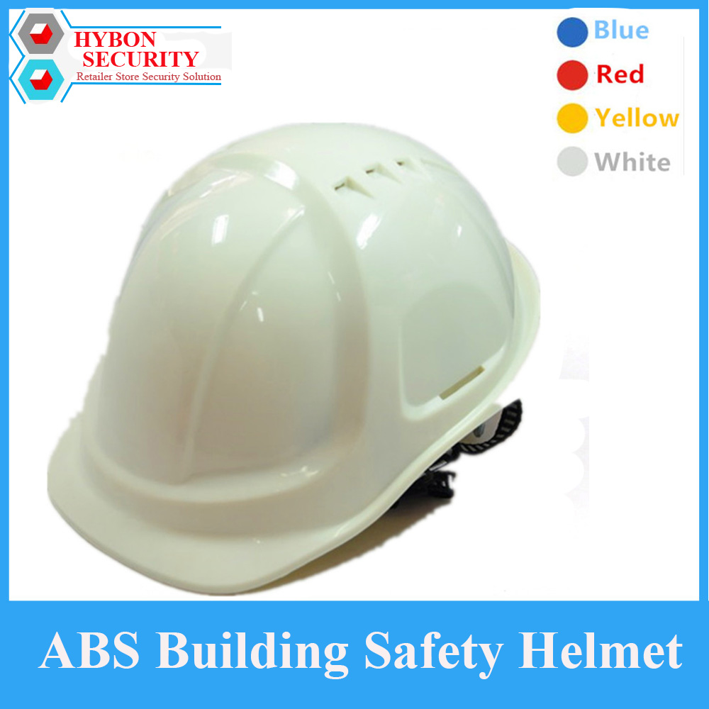 HYBON Anti-smashed Hard Hat Safety Helmet ABS High Strength Industrial Safety Cap Maschera Casco Construction Team Safety Helmet classic solar energy safety helmet hard ventilate hat cap cooling cool fan delightful cheap and new hot selling