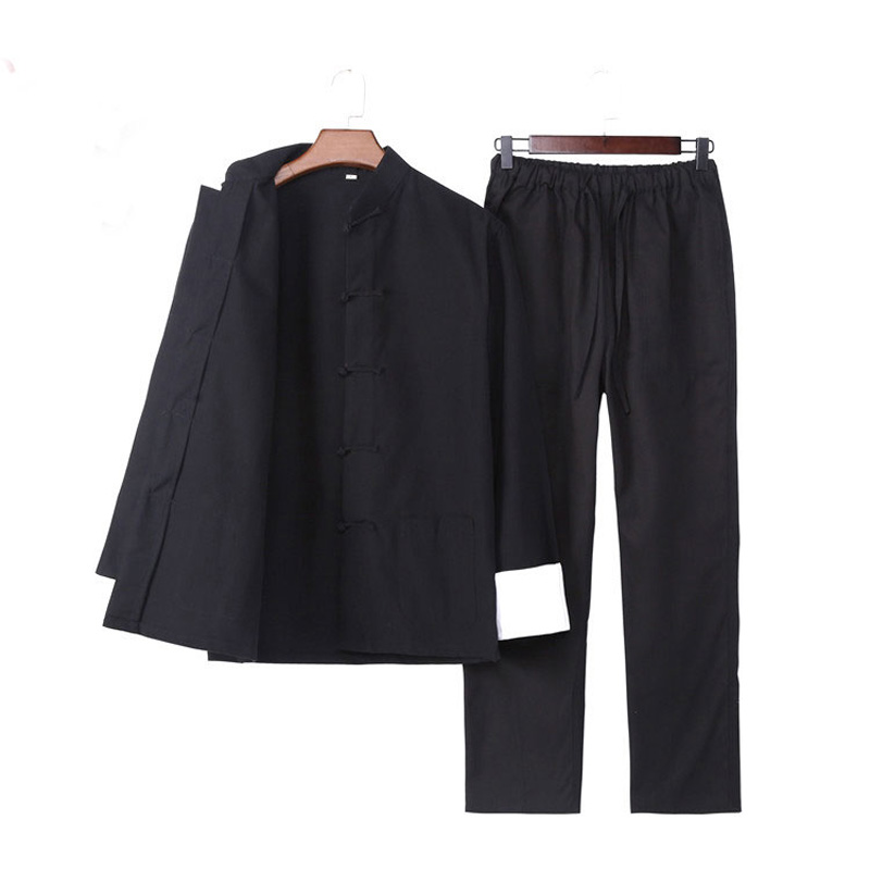Комплект одежды Umorden, с длинным рукавом, Брюс Ли, крыльев Chun Tai Chi, китайский костюм танга, Одежда Кунг-фу, униформы, пальто, брюки для мужчин
